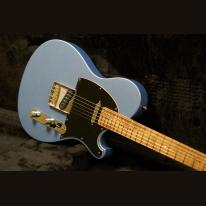Seth Baccus Guitars Shoreline T Pelham Blue #190721