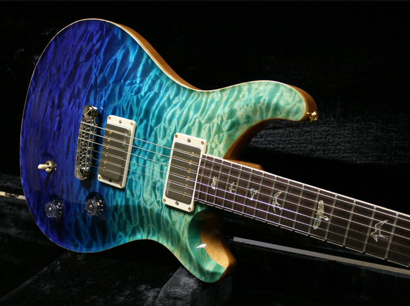 PRS MC 58 Artist Package Bluegreen Fade