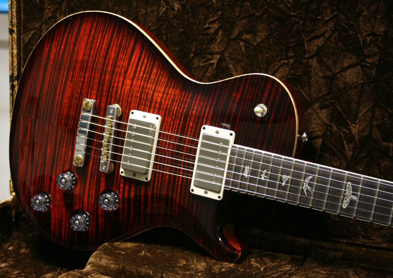 PRS SC 58 Fire Red Burst