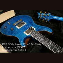 PRS 30th Anniversary Vine McCarty Limited